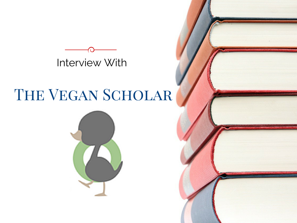 Interview with the vegan scholar