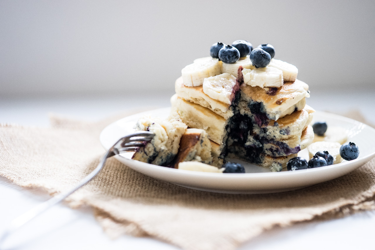 Blueberry pancake-4
