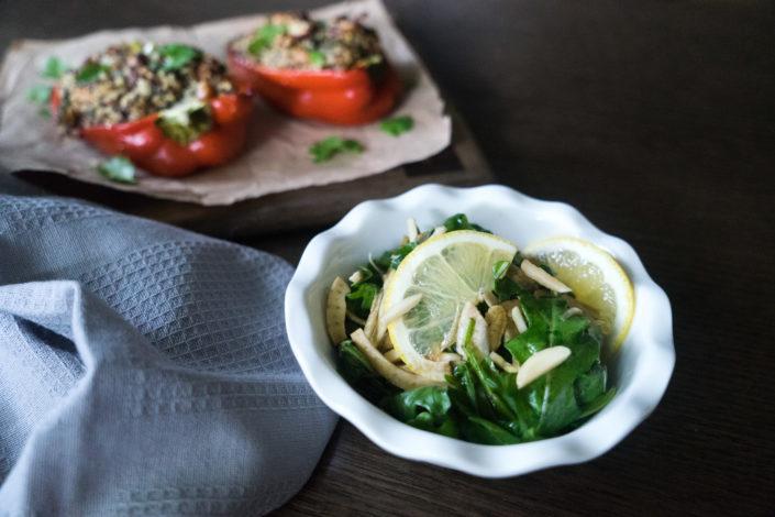 Rocket and Fennel salad