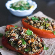 Stuffed Capsicum With Quinoa