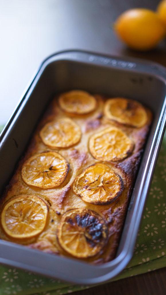 Lemon Meyer Cake