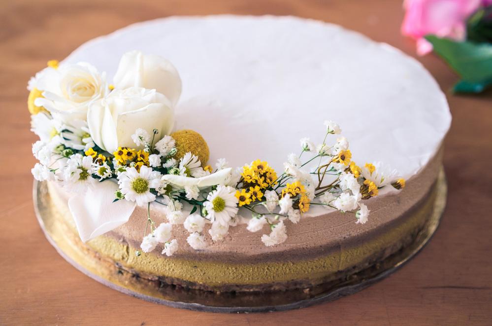 Sadhana Kitchen | White Chocolate Cake