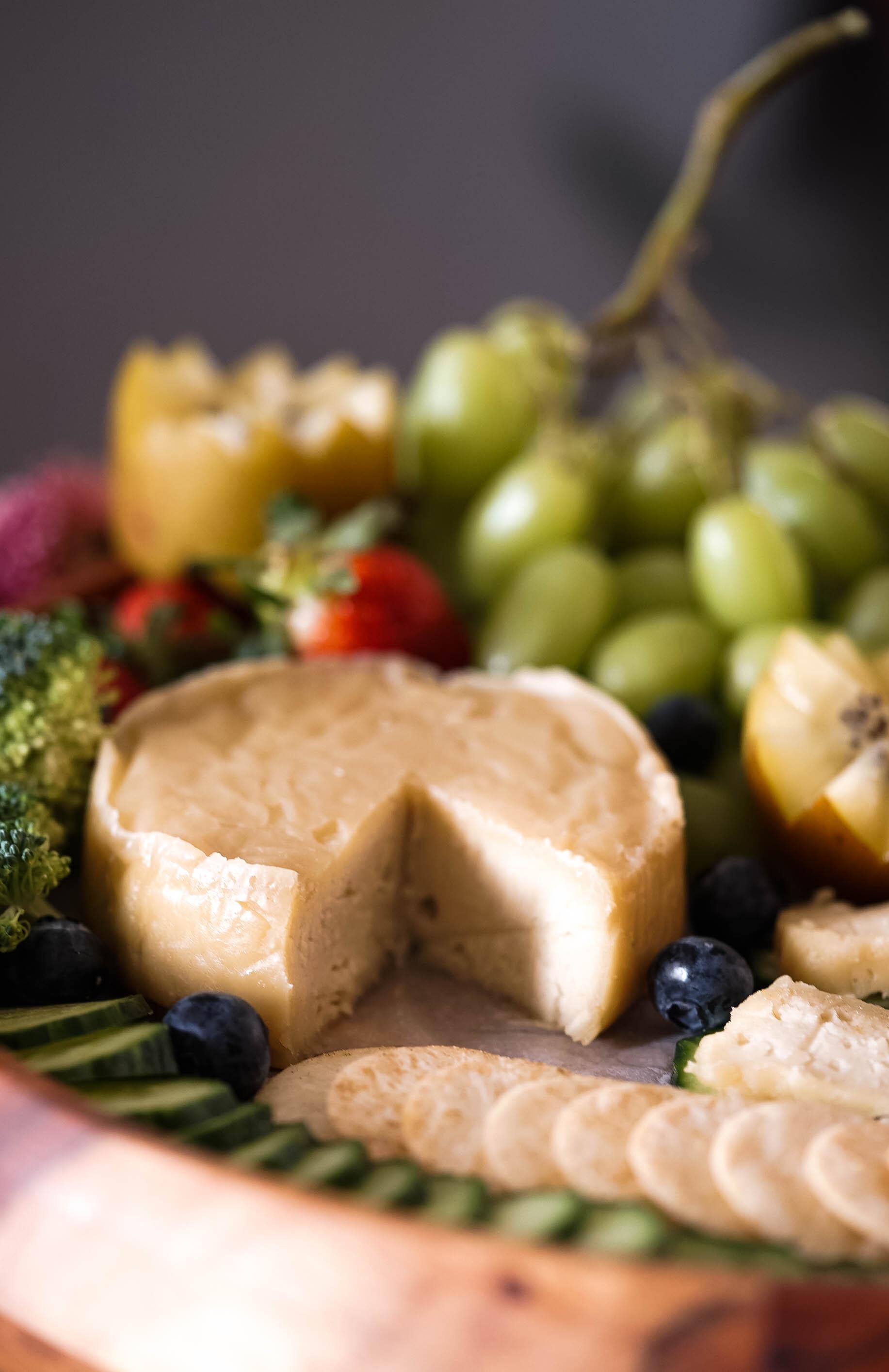 Vegan Triple Cream Brie